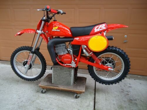 1980 Honda CR250R Elsinore Red for sale