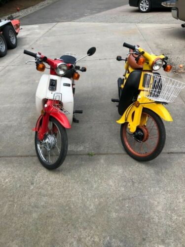 1980 Honda CT Red and Yellow craigslist