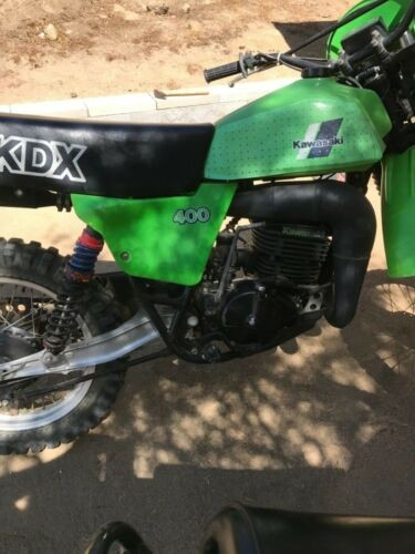 1980 Kawasaki Kdx Green for sale craigslist