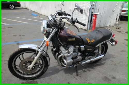 1980 Yamaha Maxim 650 Burgundy for sale