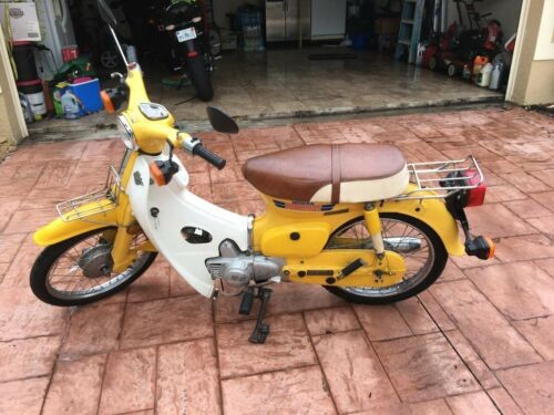 1981 Honda Passport C70 Yellow for sale