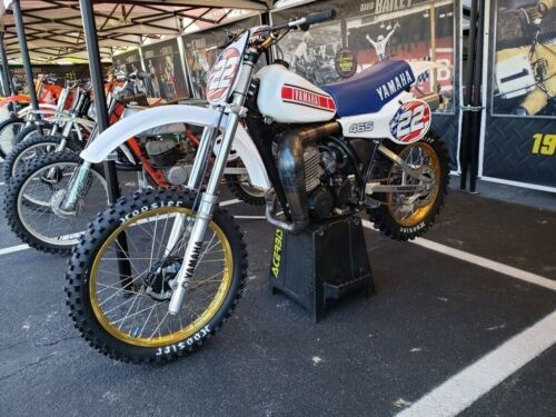 1981 Yamaha YZ White for sale