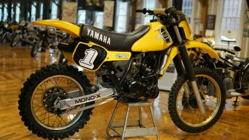 1982 Yamaha YZ250 Yellow for sale