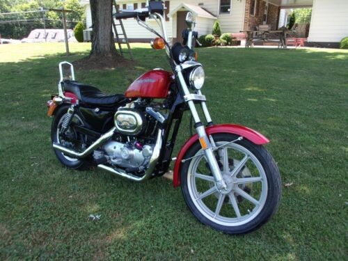 1984 Harley-Davidson Sportster Red for sale craigslist
