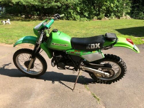 1984 Kawasaki KDX Green for sale