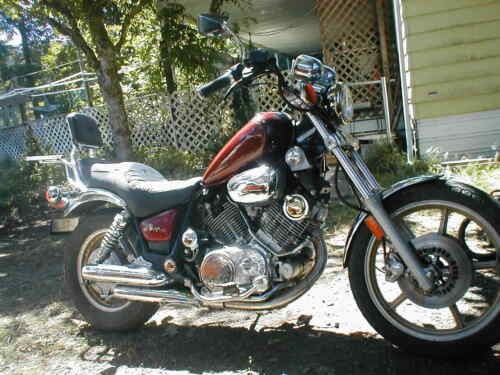 1984 Yamaha Virago Red for sale