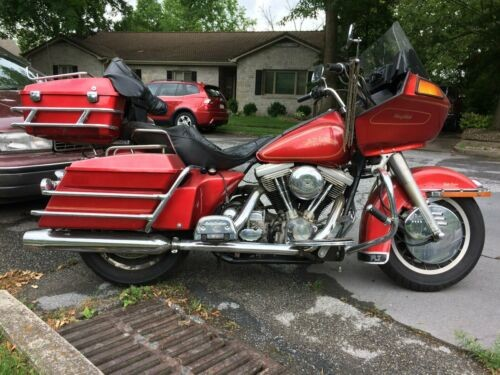 1985 Harley-Davidson Touring Red for sale