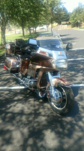 1986 Honda Gold Wing champange ,/ burgundy for sale craigslist