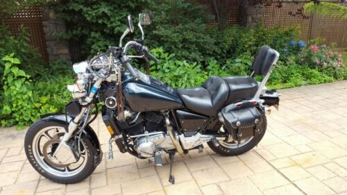 1986 Honda SHADOW BLACK N GREEN for sale