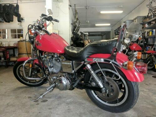 1987 Harley-Davidson Sportster Red for sale craigslist
