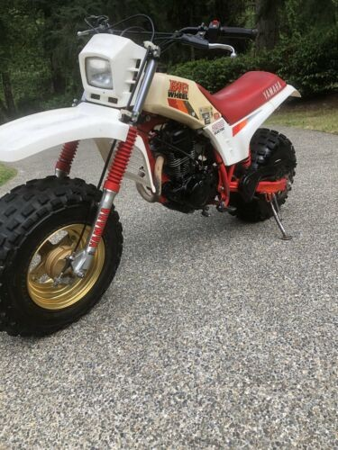 1987 Yamaha BW200 Red for sale