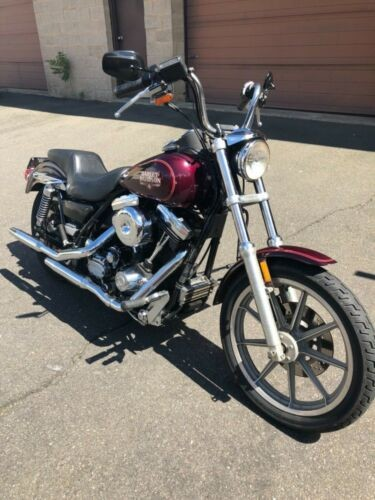 1988 Harley-Davidson FXR Purple for sale craigslist