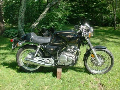 1989 Honda GB500 Black for sale