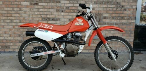1989 Honda XR100R Red for sale craigslist