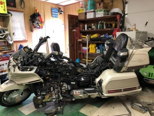 1990 Honda Gold Wing White for sale