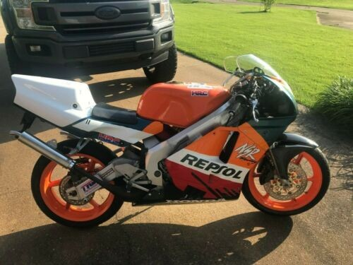 1990 Honda NSR250 Orange for sale