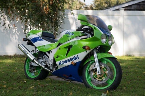1990 Kawasaki Ninja Green for sale