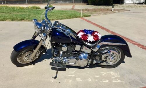 1991 Harley-Davidson Softail Blue for sale craigslist