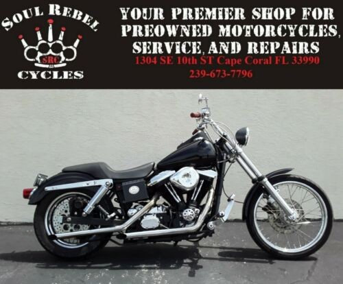 1994 Harley-Davidson Dyna Black for sale craigslist