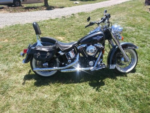 1995 Harley-Davidson Heritage Softail Classic Silver for sale craigslist