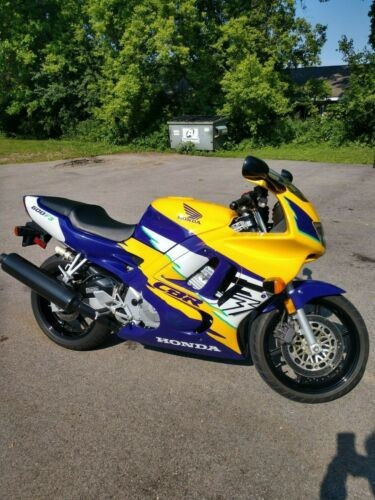 1996 Honda CBR Purple/yellow for sale