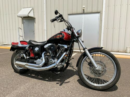 1998 Harley-Davidson Dyna Laser Red/Vivid Black 2-Tone for sale