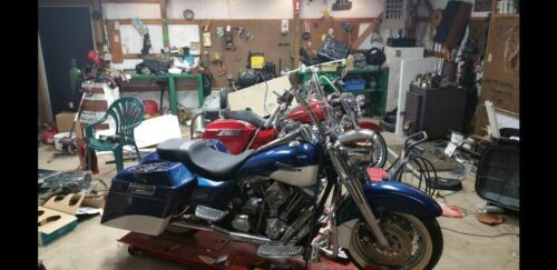 1998 Harley-Davidson Touring Blue for sale
