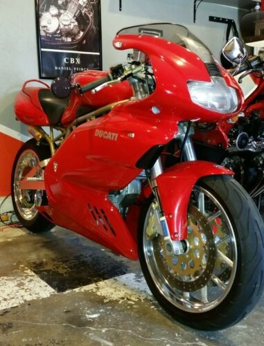 1999 Ducati Supersport Red for sale craigslist