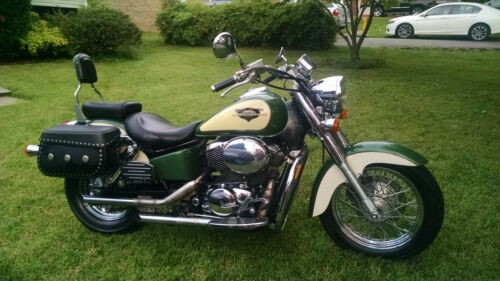 1999 Honda Shadow VT750CD2 Green craigslist