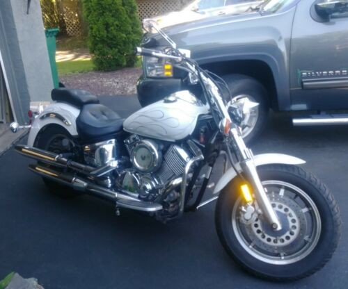 1999 Yamaha V Star White for sale craigslist