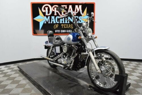 2000 Harley-Davidson Dyna -- Blue for sale craigslist