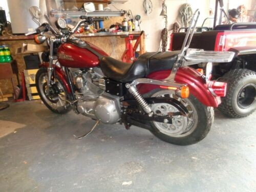2000 Harley-Davidson Dyna Burgundy for sale craigslist