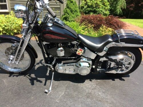 2000 Harley-Davidson Softail Black for sale craigslist