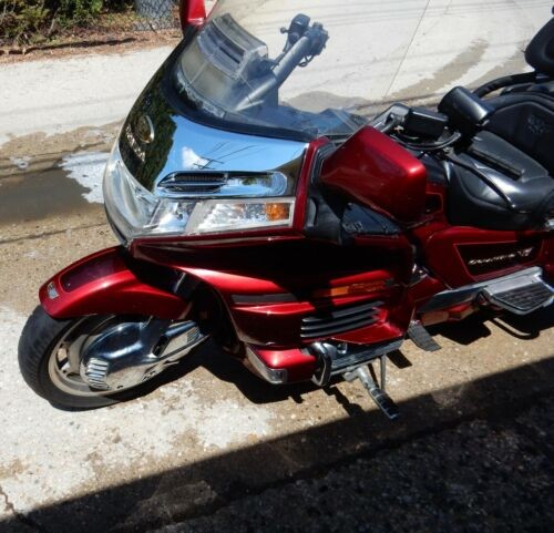 2000 Honda Gold Wing Red for sale craigslist