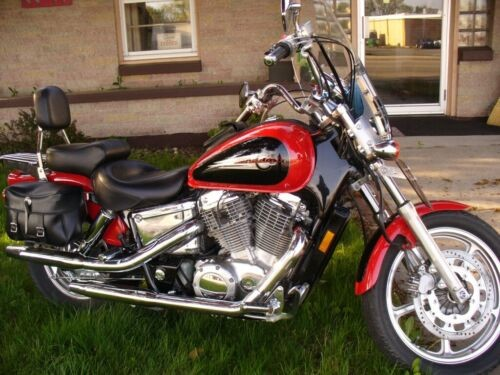 2000 Honda Shadow Red for sale craigslist