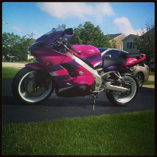 2000 Kawasaki Ninja Pink/Purple for sale