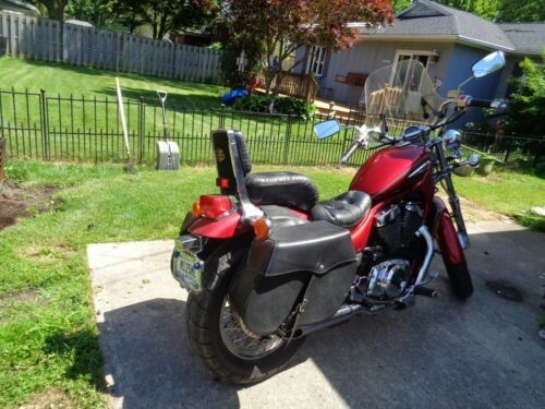 2000 Suzuki Intruder bright burgundy for sale craigslist