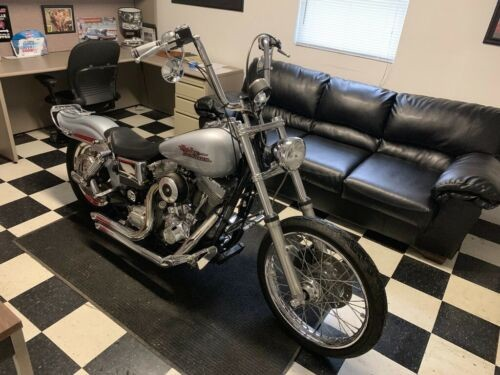 2001 Harley-Davidson Dyna Silver for sale