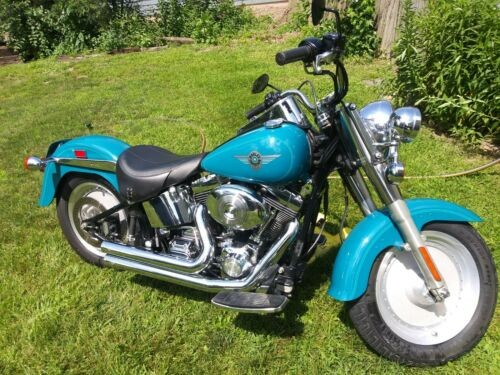 2001 Harley-Davidson Softail Teal for sale craigslist