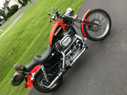 2001 Harley-Davidson Sportster Orange/Bronze factory custom craigslist