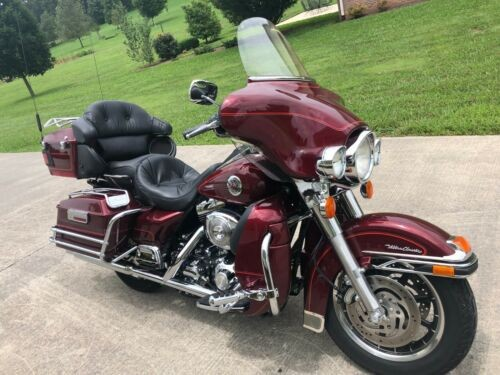 2001 Harley-Davidson Touring Rich Red with Stripe for sale craigslist