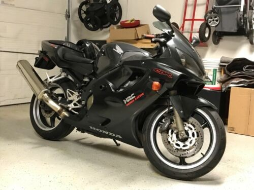 2001 Honda CBR Black Metallic/ Gray for sale