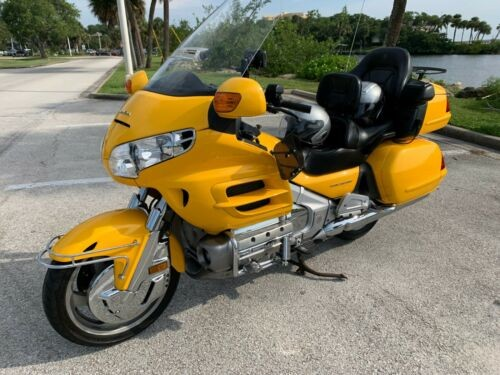 2001 Honda Gold Wing Yellow craigslist
