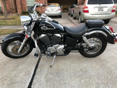 2001 Honda Shadow Black for sale craigslist