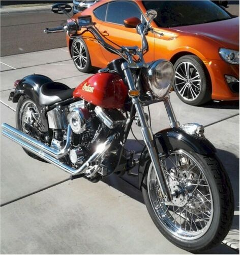 2001 Indian Scout Black / Red for sale