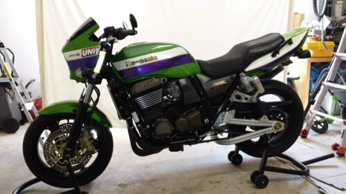 2001 Kawasaki zrx1200 Green for sale craigslist