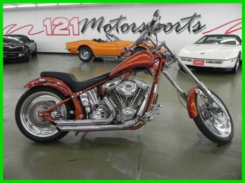 2002 Custom Built Motorcycles Pro Street Orange for sale
