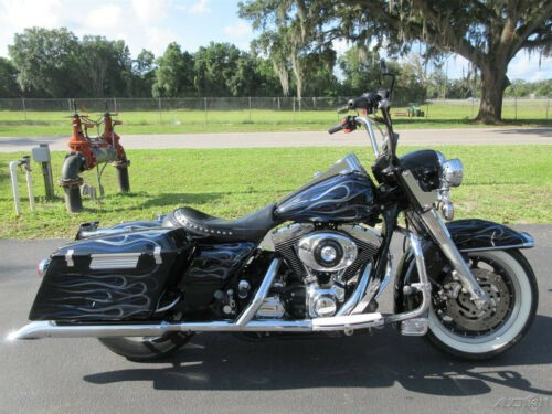 2002 Harley-Davidson Road King Police Black for sale