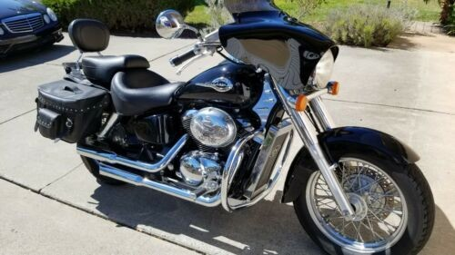 2002 Honda ACE Shadow Deluxe Black for sale craigslist