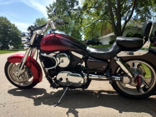 2002 Kawasaki Vulcan red for sale craigslist